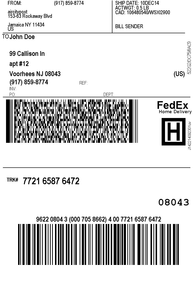 This is a picture of Divine Fedex Shipping Label Login